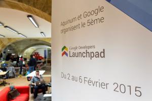 Souvenir du Google Launchpad avec l'extension LeMêmeEnMieux crédit photo : Eric Bouloumié