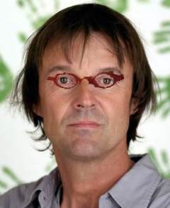 Hulot lunettes rouges