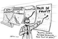 Bourse en berne