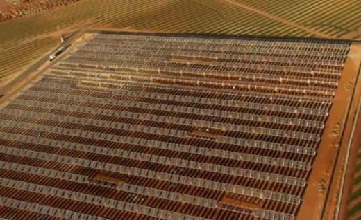 desert photovoltaique Home